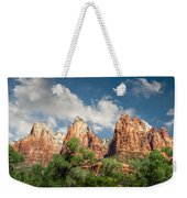 Zion Court Of The Patriarchs Weekender Tote Bag by Tammy Wetzel