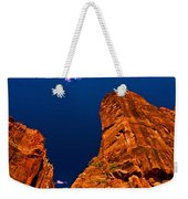 Zion National Park Oil On Canvas Weekender Tote Bag