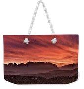 Zion National Park Panoramic Weekender Tote Bag
