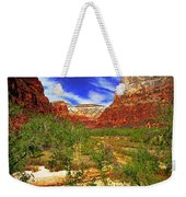 Zion Park Canyon Weekender Tote Bag