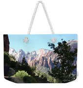 Zion Park Majestic View Weekender Tote Bag
