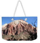 Zion Park Mountainscape Weekender Tote Bag