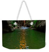 Zion Reflections - The Narrows At Zion National Park. Weekender Tote Bag