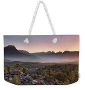 Zion Sunrise Weekender Tote Bag