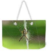 Zipper Spider Weekender Tote Bag