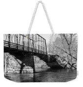 Zoar Iron Bridge Weekender Tote Bag