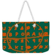 Zodiac Killer Code And Sign 20130213p28 Weekender Tote Bag