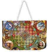 Zodiac Mandala Weekender Tote Bag