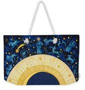 Zodiac Moon Weekender Tote Bag