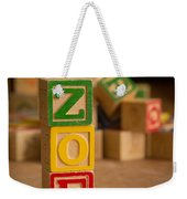 Zoe - Alphabet Blocks Weekender Tote Bag