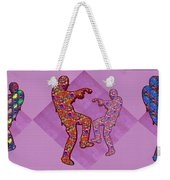 Zombie Funny Comic Cartoons Dance Zombie Dance Grand   36x12 Horizontal Landscape Energy Graphics Ba Weekender Tote Bag