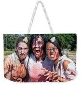 Zombie Run Nola 24 Weekender Tote Bag