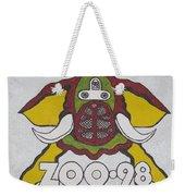 98 Kzew Radio Logo Weekender Tote Bag