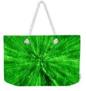 Zoom In Green Weekender Tote Bag