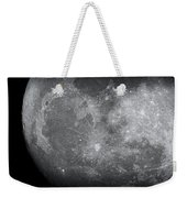 Zoom In Moon Weekender Tote Bag