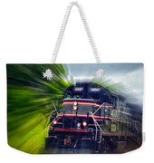 Zooming Through Ontario Weekender Tote Bag