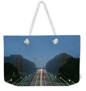 Zoomy Pic Of The Plaza State Capital Pa Weekender Tote Bag