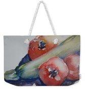 Zucchini And Tomatoes Weekender Tote Bag