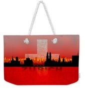 Zurich City Weekender Tote Bag