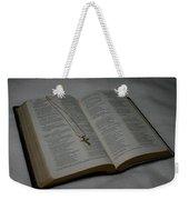 Daily Reading Weekender Tote Bag