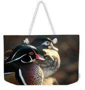 A Couple Of Wood Ducks Weekender Tote Bag