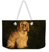American Cocker Spaniel Weekender Tote Bag
