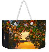 Autumn Leaves A View Weekender Tote Bag