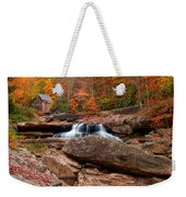 Autumn Leaves At The Mill Weekender Tote Bag