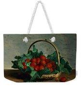 Basket Of Strawberries Weekender Tote Bag