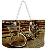 Bicycle Breakdown Weekender Tote Bag