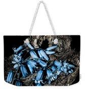 Bluebells And Log Weekender Tote Bag