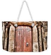 Bronze - Old Door Weekender Tote Bag