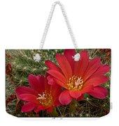 Cacti Bloom Weekender Tote Bag