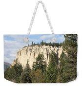 Canadian Rocky Mountain Hoodoos Bc Weekender Tote Bag