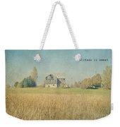Farm House Solitude Weekender Tote Bag