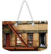 Fire Escapes - Nyc Weekender Tote Bag