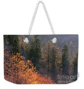 Great Smoky Mountains Morning Weekender Tote Bag