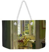 Interior Morning  Weekender Tote Bag
