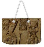 Karnak Egypt Hieroglyphics Weekender Tote Bag