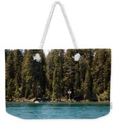 Lake Tahoe Sugar Pine Point Light Weekender Tote Bag