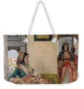 Life In The Harem - Cairo Weekender Tote Bag by John Frederick Lewis