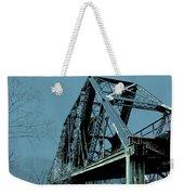 Mississippi River Rr Bridge At Memphis Weekender Tote Bag