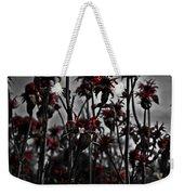 Mono Flowers Weekender Tote Bag
