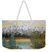 Mountain Fall Weekender Tote Bag