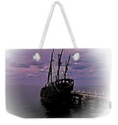 Notorious The Pirate Ship 5 Weekender Tote Bag