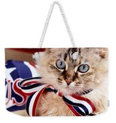 Portrait Of A Patriot Weekender Tote Bag