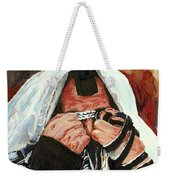Prayer For Peace Weekender Tote Bag
