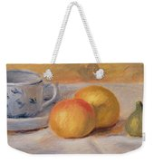 Still Life With Blue Cup Nature Morte A La Tasse Bleue Weekender Tote Bag