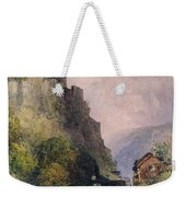 The Castle Of Katz On The Rhine Weekender Tote Bag