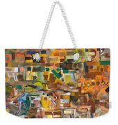 The Essense Of Each Matter Weekender Tote Bag